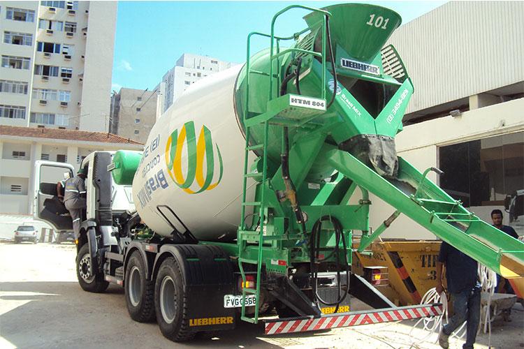 Concreto Bombeável - Brasil Mix Concreto